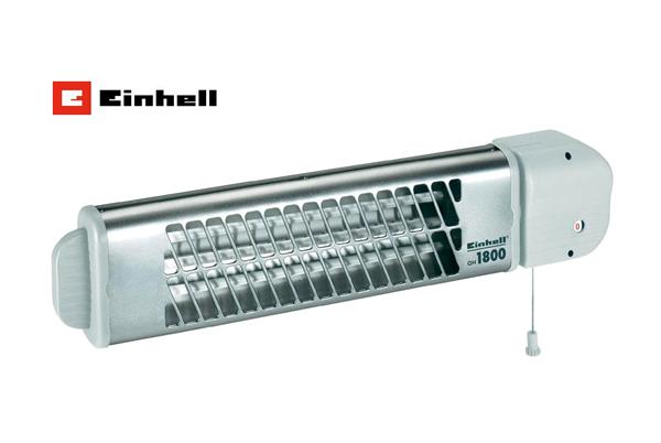 Křemíkový infrazářič Einhell QH 1800, 600/1200/1800 W