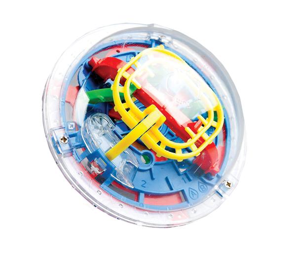 Hlavolam 3D Tramtárie 9cm (bludiště Intellect Ball) 75