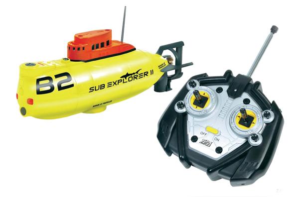 T2M RC ponorka Sub Explorer II, vč. RC soupravy, RtR