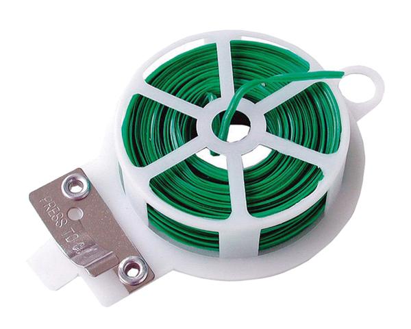 Drát vázací Extol Craft (92571) drát vázací s plastovým povrchem, plochý, 50m, se střižným mechanism
