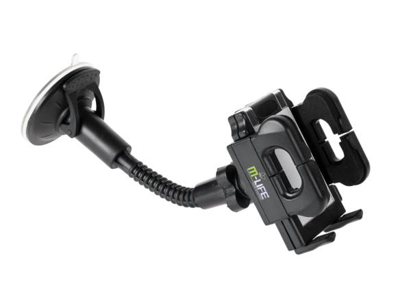 Držák do auta univerzální M-Life (ML0342) pevný s obrázkem