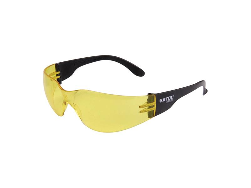Brýle ochranné, žluté, EXTOL CRAFT