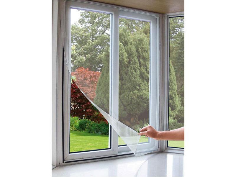 Extol Craft (99110) síť okenní proti hmyzu, 100x130cm, bílá, PES