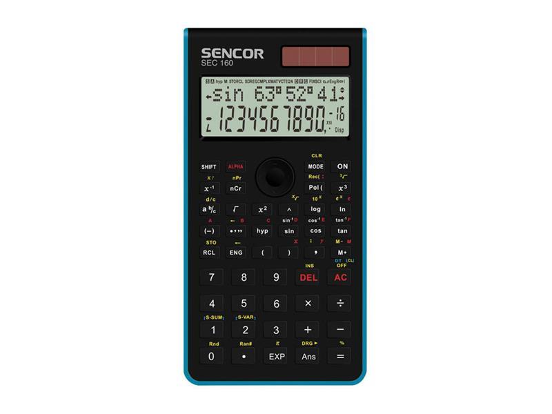Kalkulátor školní SENCOR SEC 160 BU