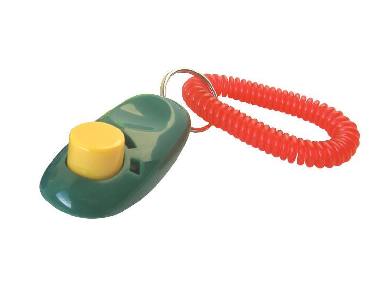 Klikr pro výcvik psa i-Clicker zelený