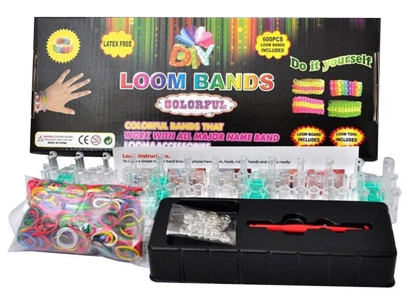 Loom Bands sada 600 gumiček