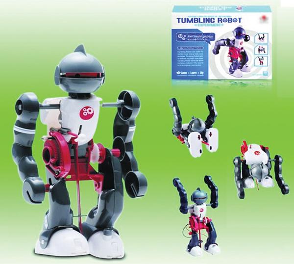 Stavebnice Tumbling robot - padající, vstávající, tančící