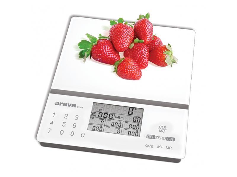 Váha kuchyňská ORAVA EV-8A