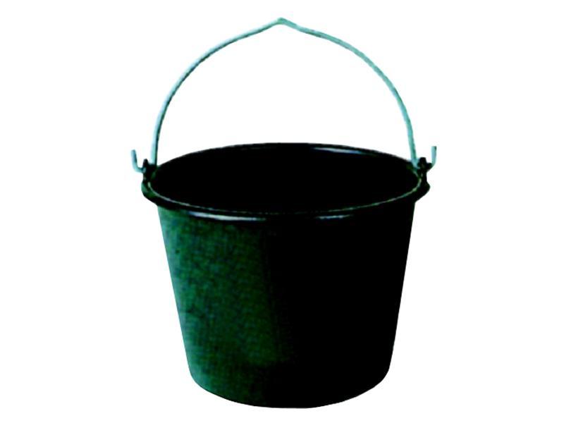 Zednické vědro černé plastové 20 L