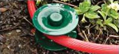 Zahradní posouvač hadice 240x55x90mm sada 3ks