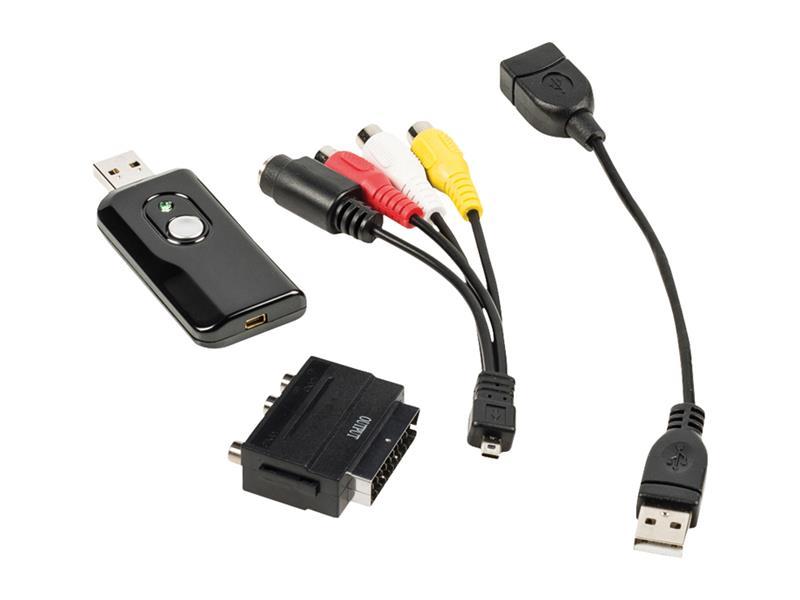 Převodník video USB - převod VHS do digitální podoby KÖNIG CSUSBVG100