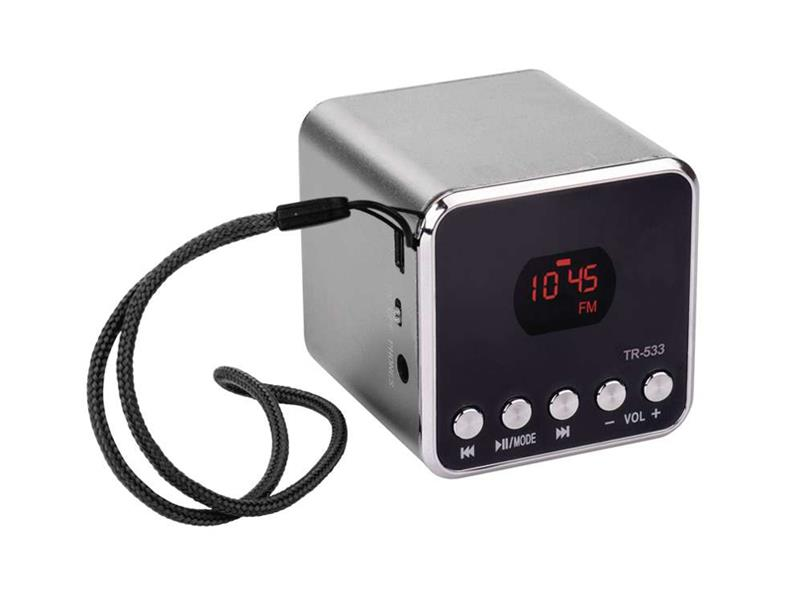 USB soundbox EMGO TR533B, šedá
