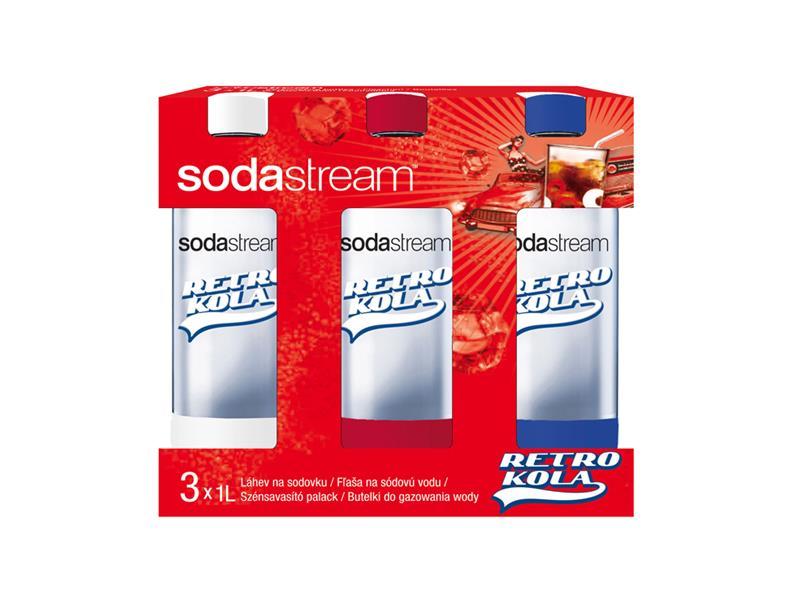 Sodastream láhev TriPack 1l RETRO KOLA