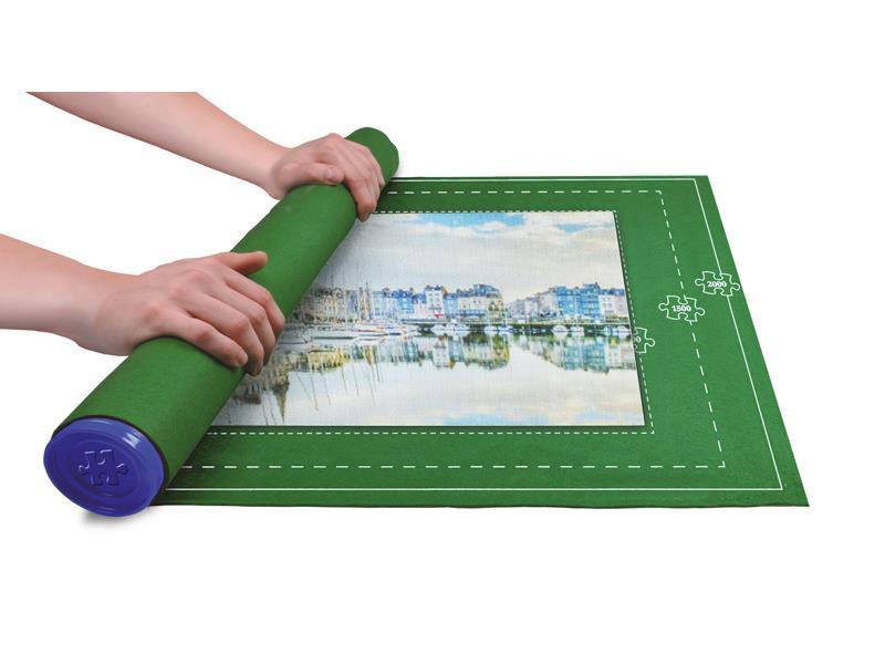 Podložka na puzzle + 1000ks puzzle Město