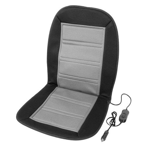 Potah sedadla 12V LADDER šedý, vyhřívaný s termostatem