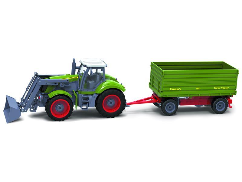 RC model traktor + přívěs BUDDY TOYS BRC 28.610