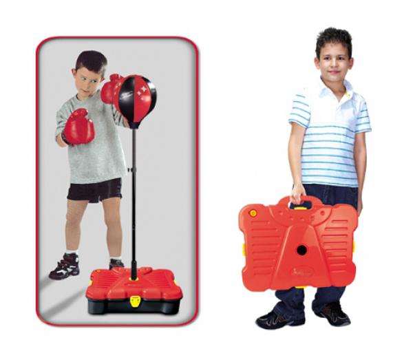 Balón boxovací G21 dětský s příslušenstvím v kufříku
