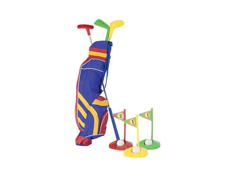 G21 Set na golf dětský DELUXE plast 61cm, 7 dílů