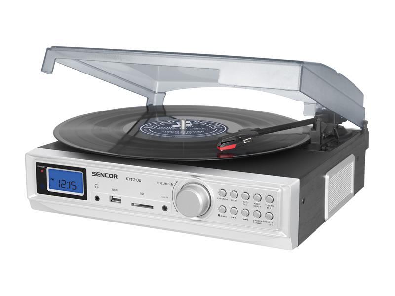 Gramofon SENCOR STT 210U s USB