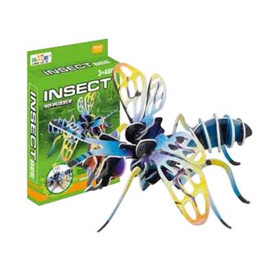 Puzzle 3D Hmyz ,  papírové