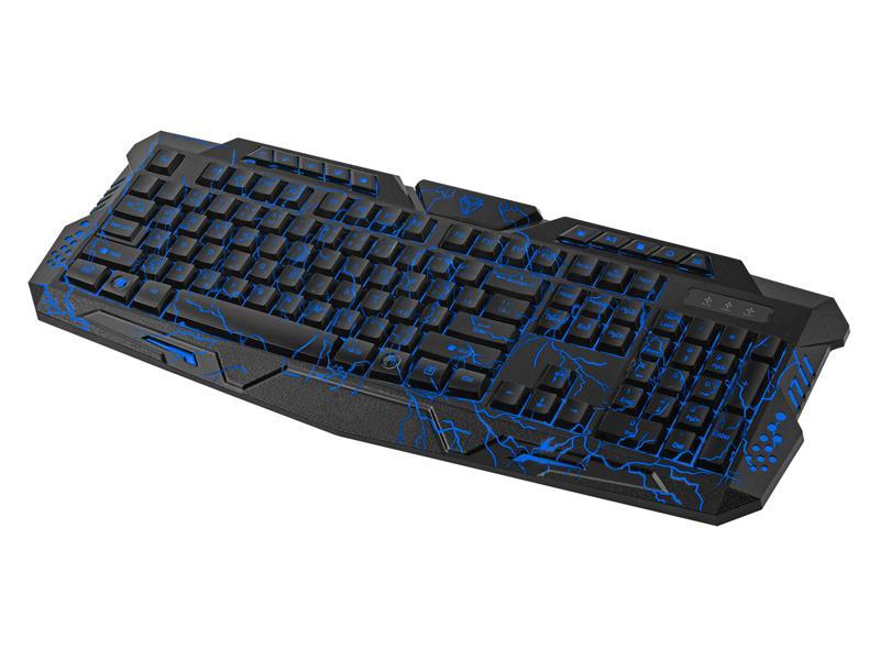 PC klávesnice YENKEE AMBUSH YKB 3100 herní