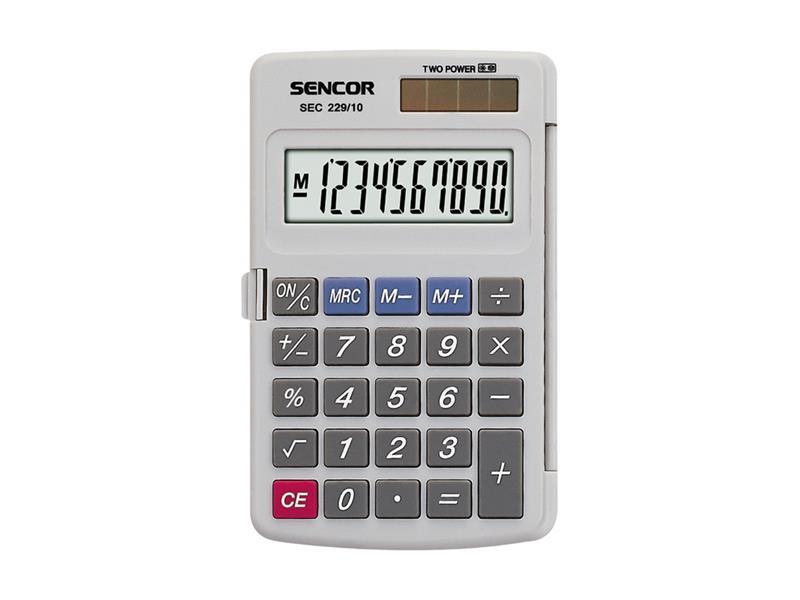 Kalkulačka SENCOR SEC 229/10 DUAL