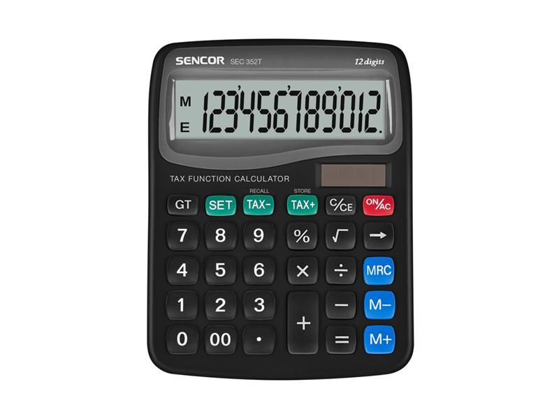 Kalkulátor stolní SENCOR SEC 352T/12