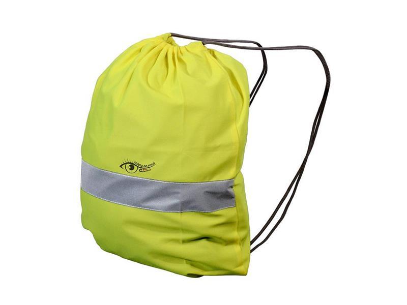 Reflexní batoh S.O.R. žlutý COMPASS 01746