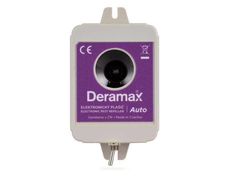 Odpuzovač DERAMAX Auto - plašič kun a hlodavců do auta
