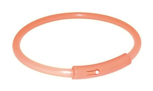 Trixie obojek Light Band blikající XL 58 cm