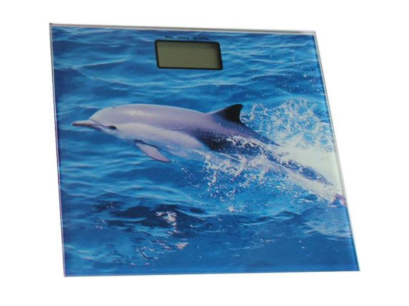 Osobní digitální váha SKYMARK, 2,5-150kg, delfín