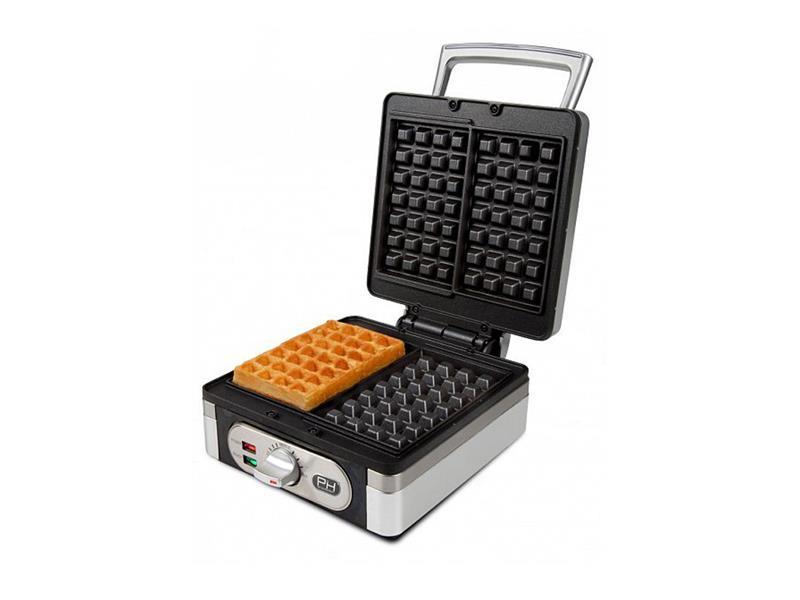 Vaflovač 4x7 s termostatem - edice Piet - DOMO DO9047W