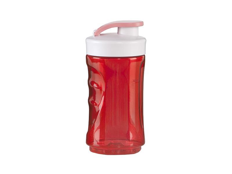 Malá láhev smoothie mixérů DOMO - červená