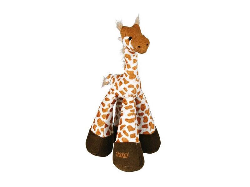 Trixie Žirafa plyšová pískací, 33cm