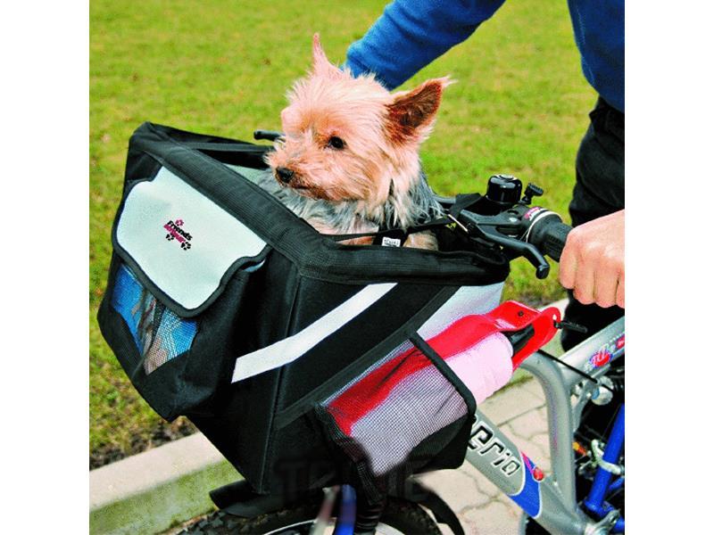Trixie Front Box na kolo na řídítka 38x25x25cm max 6kg
