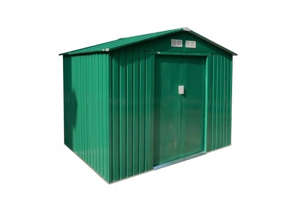 Domek zahradní G21 GAH 429 251 x 171 cm GREEN