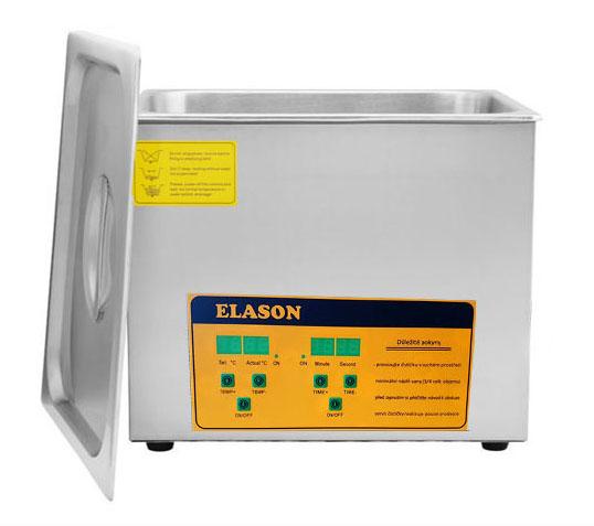 Čistička ultrazvuková ELASON 3L ORANGE digitální