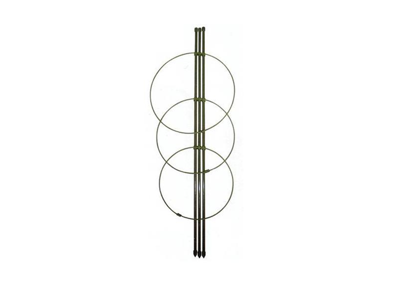 Opora pro rostliny plastová 60cm s třemi kruhy