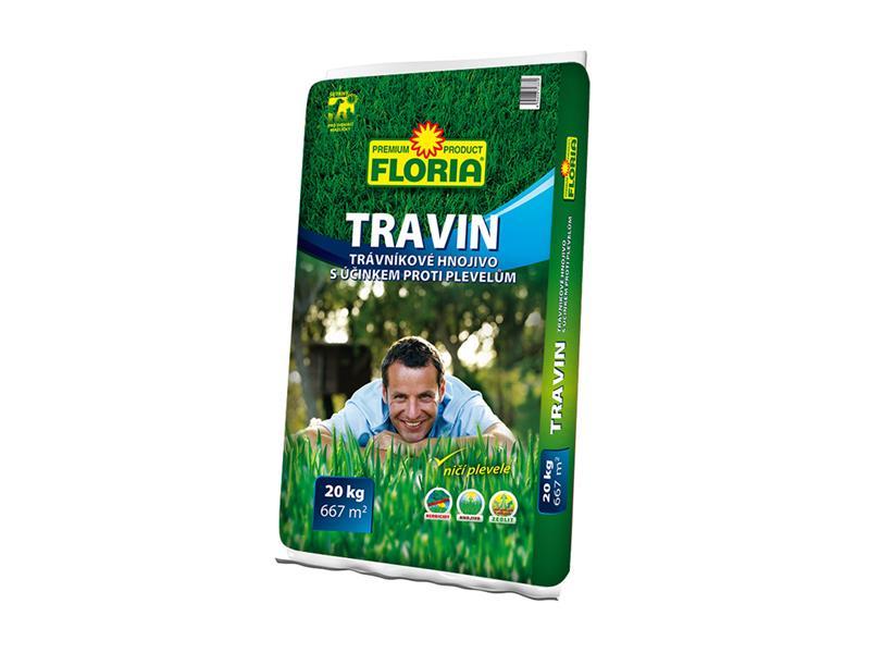Agro Floria Travin trávníkové hnojivo 20 kg
