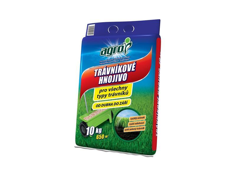 Hnojivo trávníkové AGRO 10 kg pytel