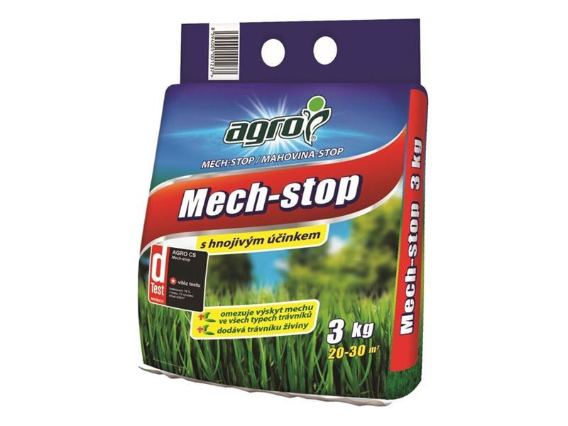 Hnojivo trávníkové AGRO MECH STOP 3 kg