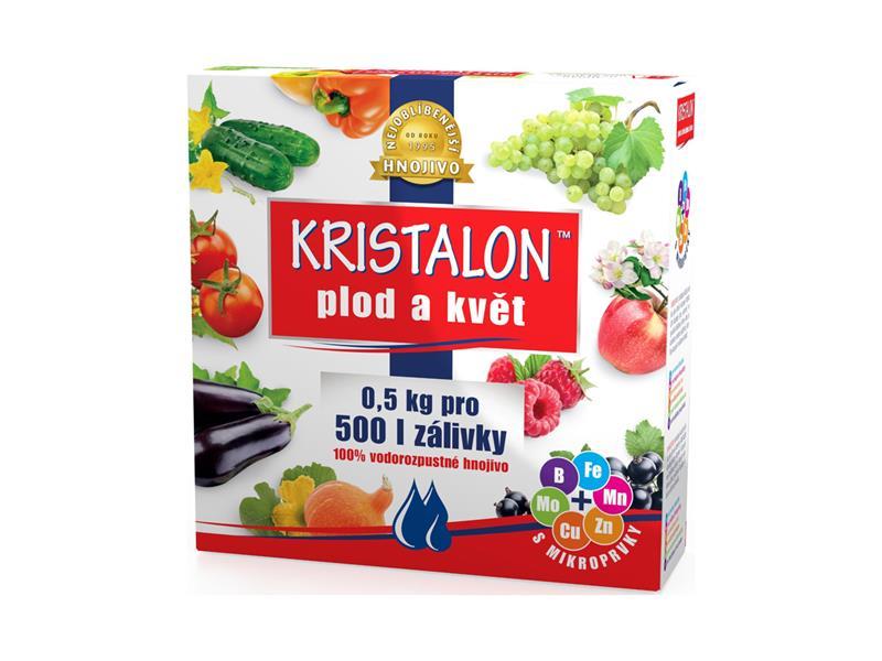 Hnojivo krystalické KRISTALON PLOD A KVĚT 0.5 kg