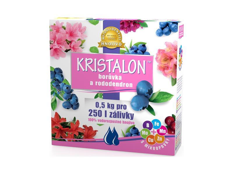 Hnojivo krystalické KRISTALON BORŮVKY A RODODENDRONY 0.5 kg
