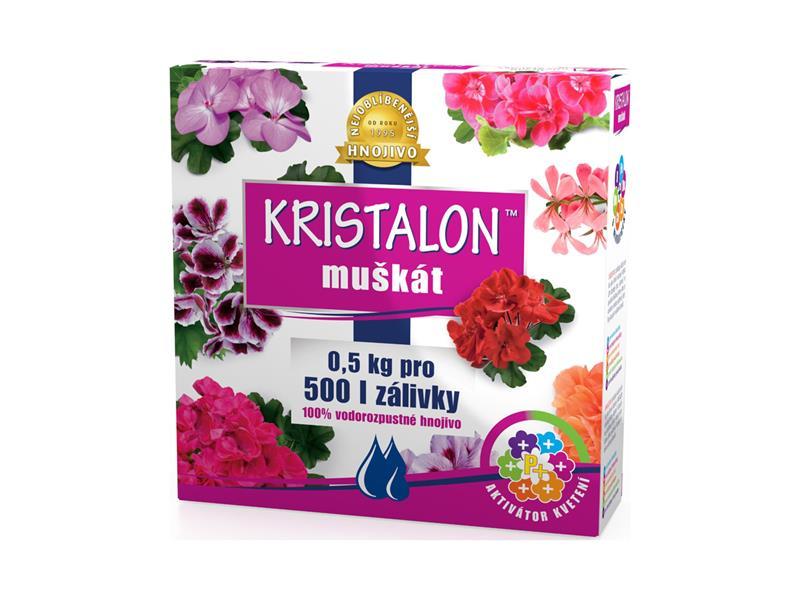 Hnojivo krystalické KRISTALON MUŠKÁT 0.5 kg
