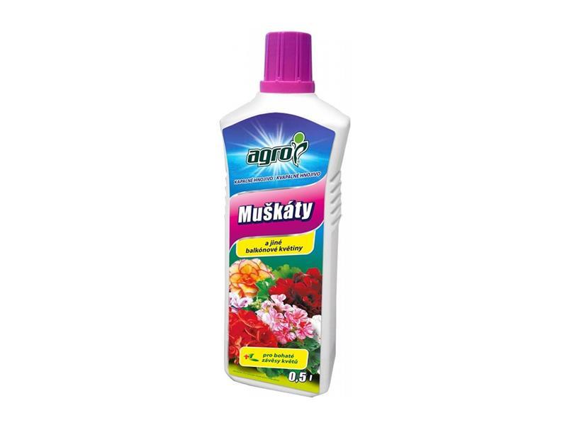 Agro kapalné hnojivo pro pelargonie 0,5 l