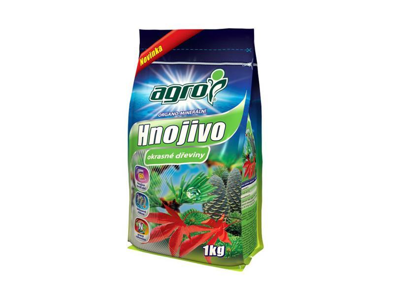 Hnojivo organominerální AGRO OKRASNÉ DŘEVINY 1 kg