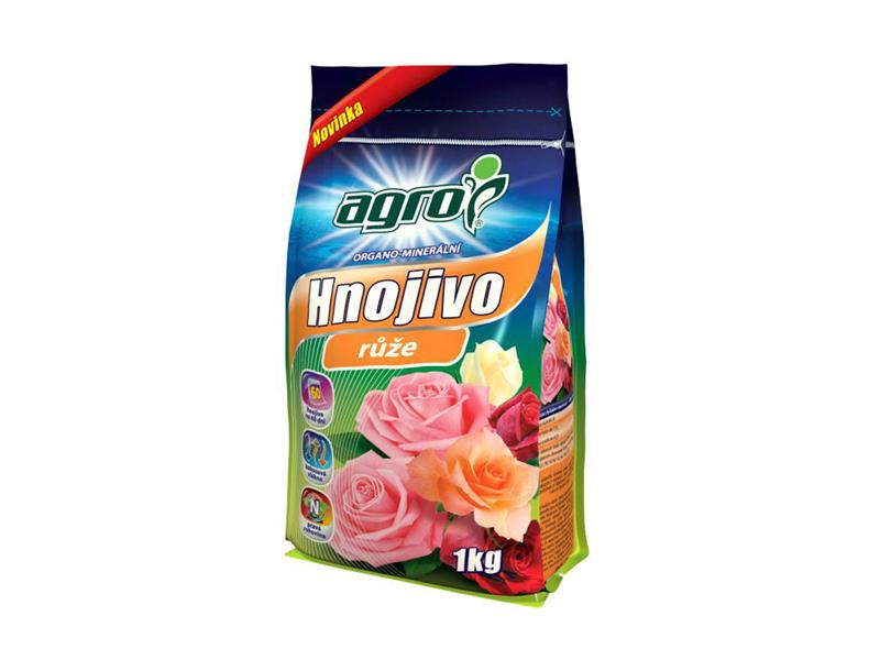 Hnojivo organominerální AGRO pro růže 1kg