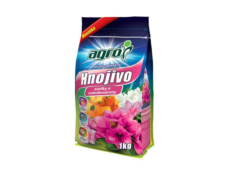 Hnojivo organominerální AGRO AZALKY A RODODENDRONY 1 kg