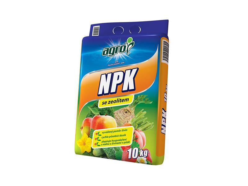 Hnojivo minerální AGRO NPK 10 kg pytel