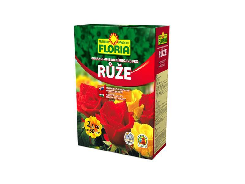 Hnojivo organominerální FLORIA pro růže 2.5kg